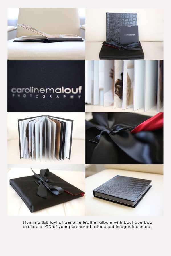 Caroline Malouf's boudoir album