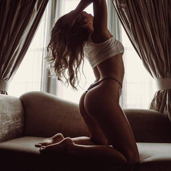 Window Light boudoir photography